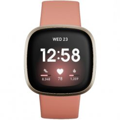 Fitbit - Versa 3 Smartwatch - Svart aluminium