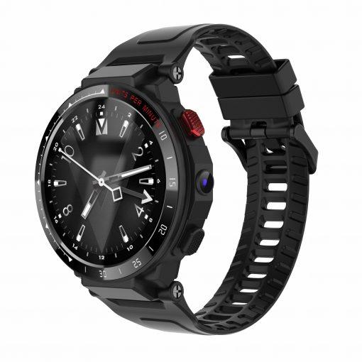 Les4 - 4G Smartwatch Android 7.1.1 - Svart
