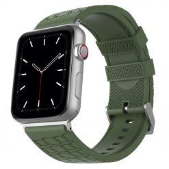 Motiv - Silikon för rem för Apple Watch 38/40 mm - Grön