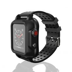 Armor A4 - Rem till apple watch 44mm - Svart