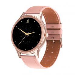 DT66 - Estetisk och lätt smartwatch för kvinnor - Guld