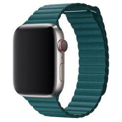 Läder loop -Apple Watch Läderrem- 38/40 mm - Ocean