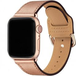 Bovisa - Äkta läder för Apple Watch 38/40mm - Brun