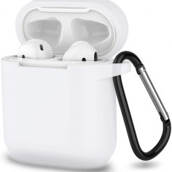 Apple AirPods skal i silikon - Vitt