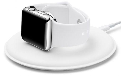 Magnetisk laddare för Apple Watch – Vit