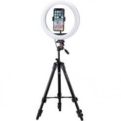 Fotopro - L4 ringljussats inklusive fjärrkontroll till slutare och mobilhållare