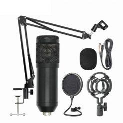 BM800 kondensatormikrofon kit - Svart