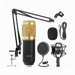 BM800 kondensatormikrofon kit - Guld