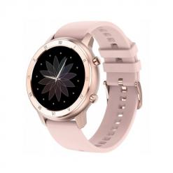 DT89 - smartwatch med IPS-skärm - Silikon guld