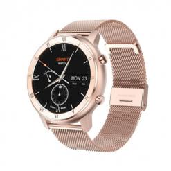 DT89 - smartwatch med IPS-skärm - Metall guld