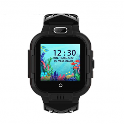 KT16 - 4G barns GPS-klocka med videosamtal - Svart