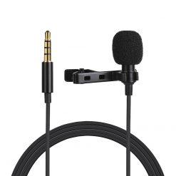 Slipsmikrofon med klämma 3.5mm jack