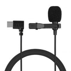 Slipsmikrofon med USB-C-anslutning