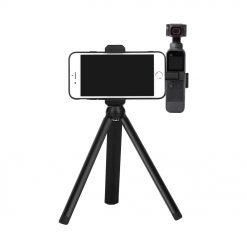 Aluminium stativ kit för Dji osmo pocket + smarthphone hållare