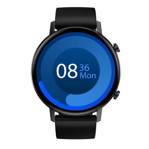 DT96 - Smartwatch med IPS pekskärm - Silikon svart