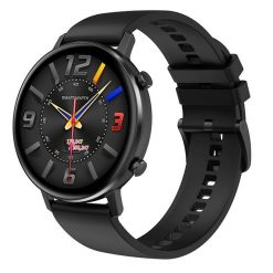 DT96 - Smartwatch med IPS pekskärm - Silikon rosa
