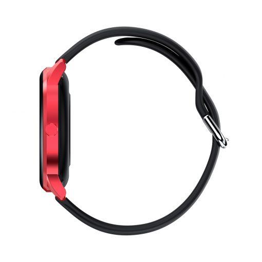 LW29 - Ultra tunn lättvikts sportklocka med aluminiumram - Röd/Svart