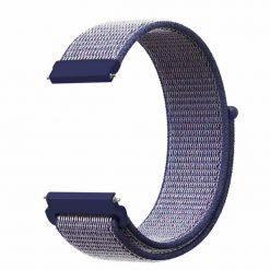 Alzara - Nylonrem för Fitbit Versa - Lila