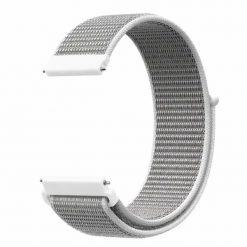 Alzara - Nylonrem för Fitbit Versa - Grå