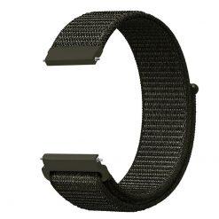 Alzara - Nylonrem för Fitbit Versa - Armé grön