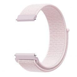 Alzara - Nylonrem för Fitbit Versa - Rosa