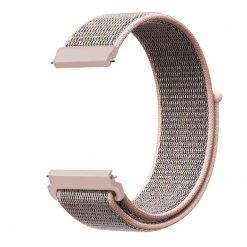 Alzara - Nylonrem för Fitbit Versa - Rosfärgad