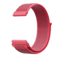 Alzara - Nylonrem för Fitbit Versa - Aprikos