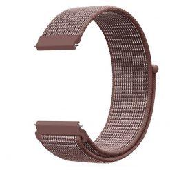 Alzara - Nylonrem för Fitbit Versa - Smokey