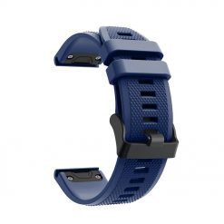 Avatar - Garmin Fenix 5/5 Plus Silikonrem - Marinblå