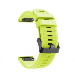 Avatar - Garmin Fenix 5/5 Plus Silikonrem - Grön