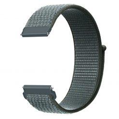 Alzara - Nylonrem för Fitbit Versa - Stormmoln